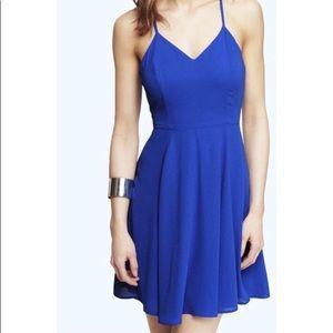 EXPRESS Cobalt Blue Dress